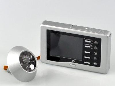 Spioncino digitale Foto e Video Silver
